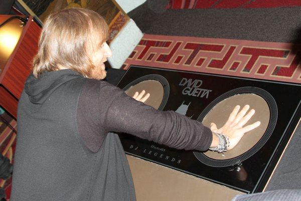 Guetta на Аллее Славы в Голливуде
