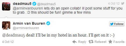 Armin и Deadmau5 затеяли коллаб?